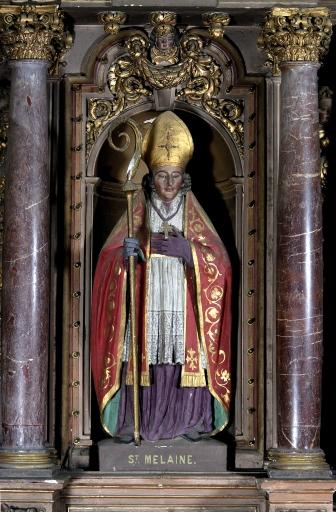 Statue: Saint Melaine