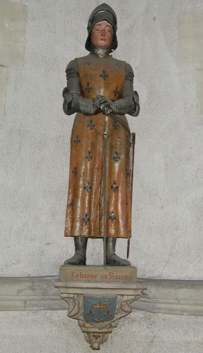 Statue sur culot: Sainte Jeanne d'Arc