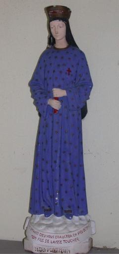 Statuette: Vierge, dite Notre-Dame de Pontmain