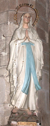 Statue: Notre-Dame de Lourdes