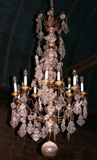 Série de 8 lustres d'église