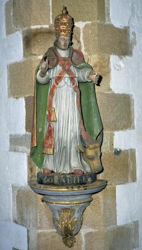 Statues de saint Cornély et de saint David