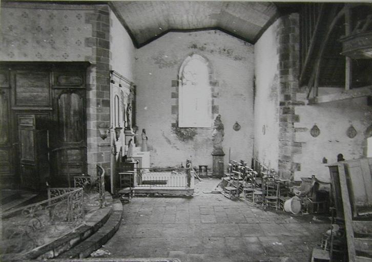 Le mobilier de la chapelle Saint-David