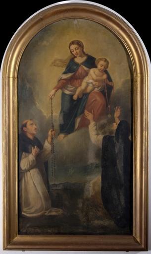 Tableau: Don du Rosaire