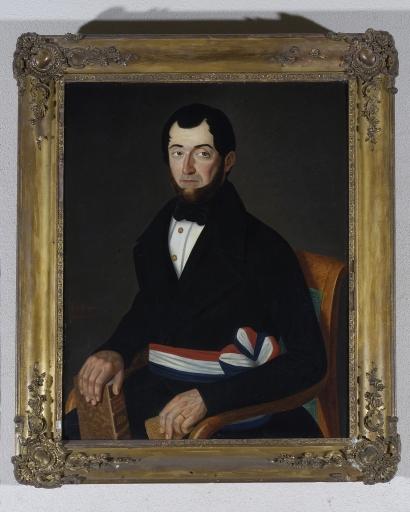 Tableau encadré : Portrait de M. Tortellier