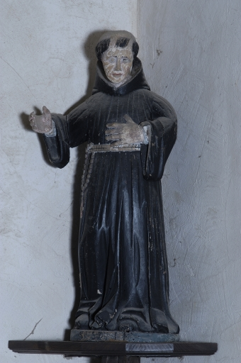 Statue: Saint moine non identifié