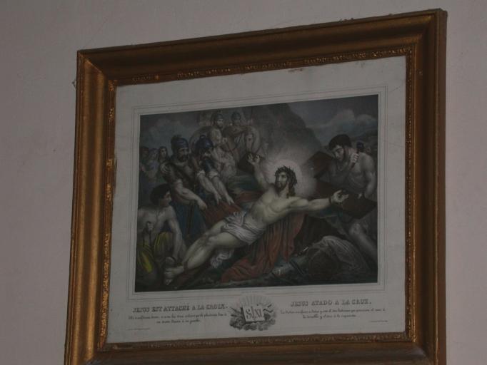 Estampe: Chemin de croix
