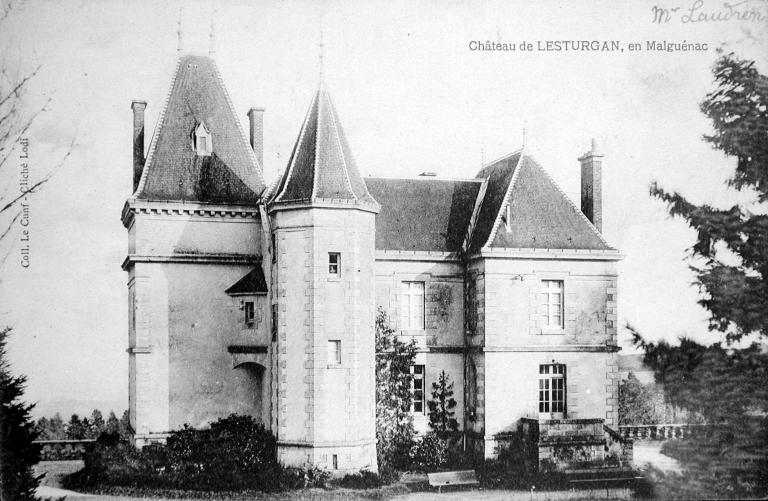 Château de Lesturgant (Malguénac)
