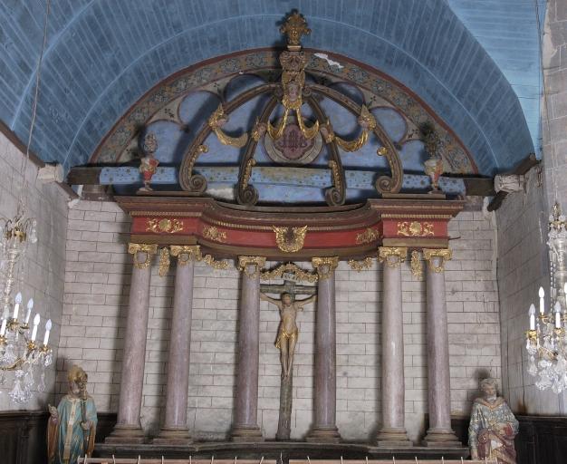 Baldaquin d'autel