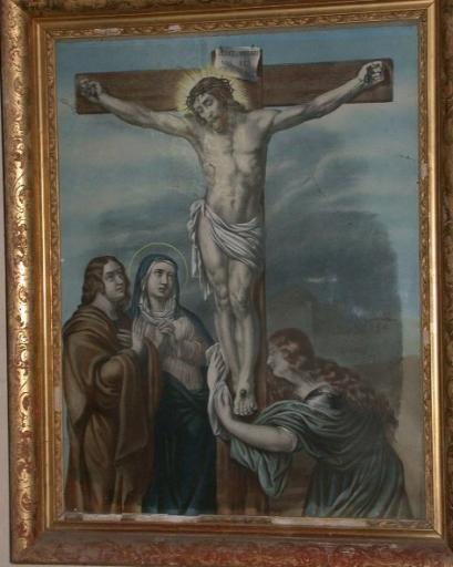 Chemin de croix, église (Feins)
