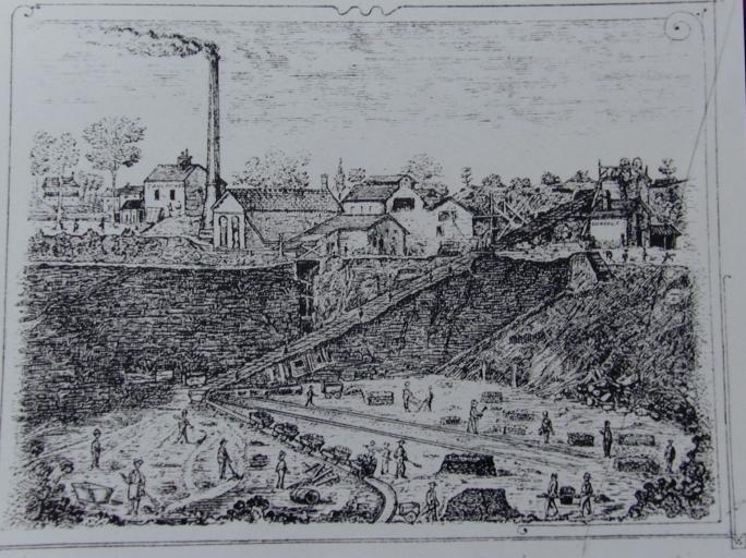 Usine de chaux de Quenon (Chevaigné)