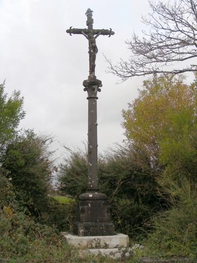 Croix monumentale, Kernaman (Commana)