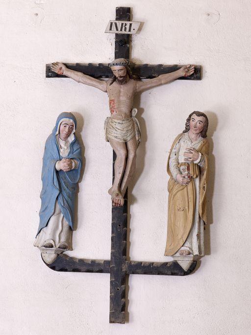 Poutre de gloire, église Saint-Malo (Monterrein fusionnée en Ploërmel en 2019)