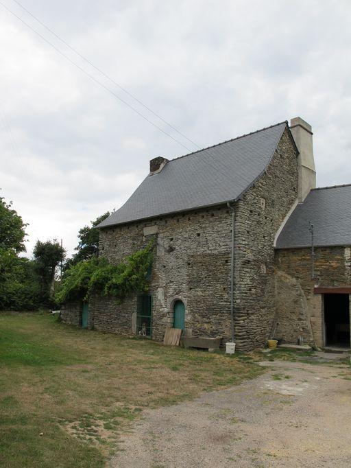Manoir, aujourd'hui maison, la Boare (La Chapelle-Caro fusionnée en Val d'Oust en 2016)