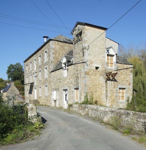 Moulin, le Couesnon (Antrain fusionnée en Val-Couesnon en 2019)