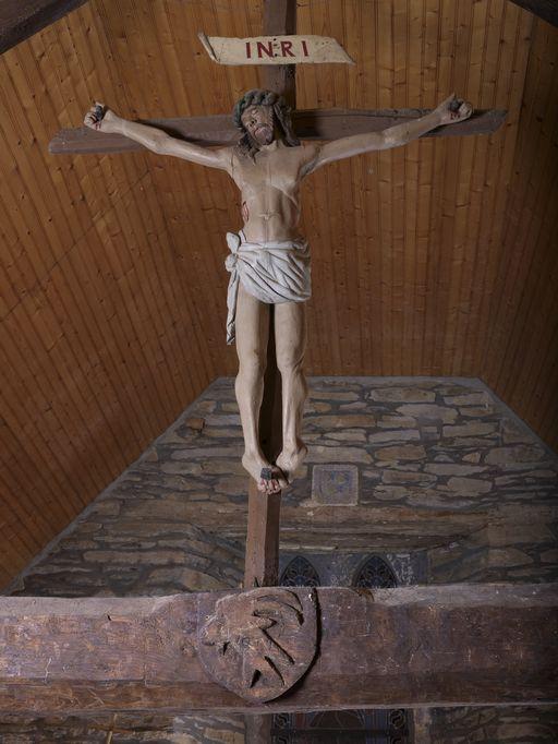 Poutre de gloire, chapelle Saint-Jean (Ruffiac)