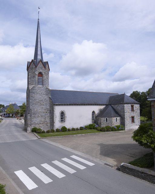Église paroissiale Saint-Laurent (Saint-Laurent-sur-Oust)