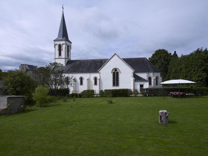 Présentation de la commune de Saint-Marcel ; Église paroissiale Saint-Marcel (Saint-Marcel)