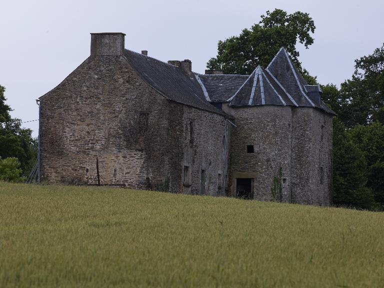 Manoir, aujourd'hui ferme, Saint-Gonan (Caro)