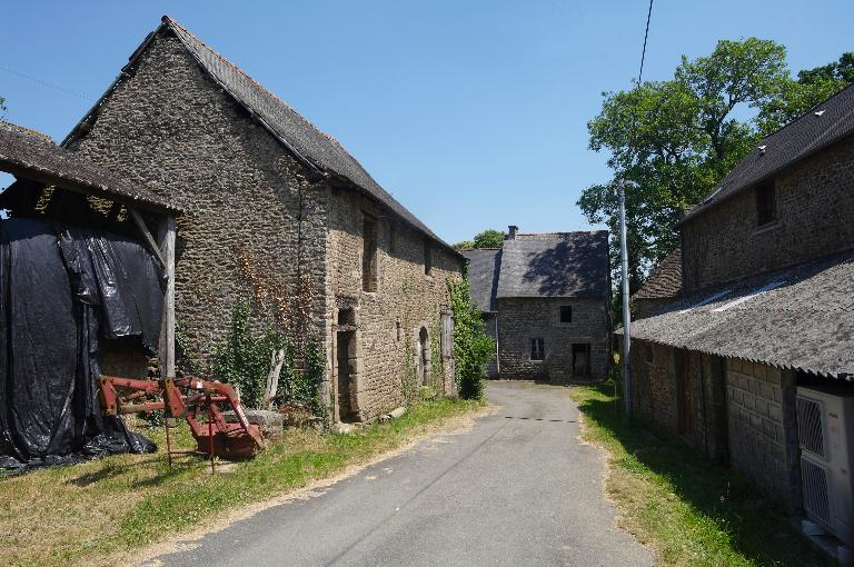 Écart, La Bigotière Launay (Le Loroux) ; Les fermes des 16e et 17e siècles de la commune de Le Loroux