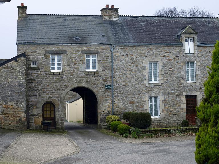 Village dit Bourg de Pluherlin