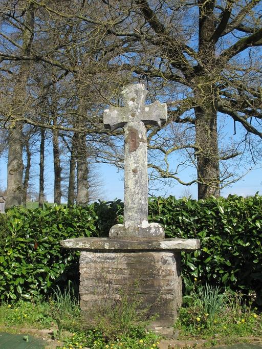 Croix de chemin, la Croix Piguel (Saint-Martin-sur-Oust)