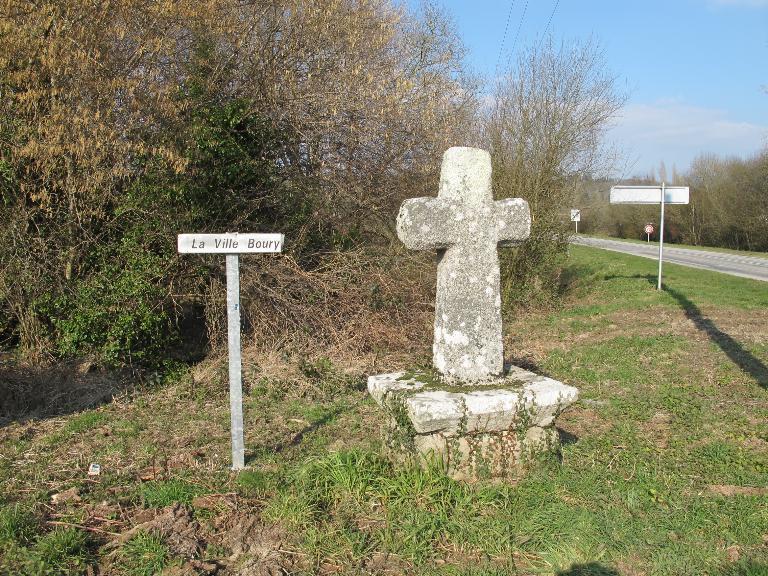 Croix de chemin n°1, le Pont d'Arz (Pluherlin)