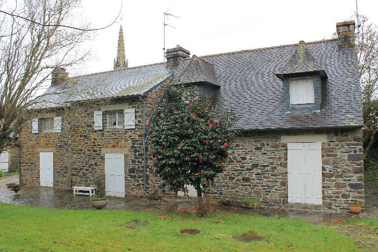 Maison, Kerilis (Saint-Coulitz) ; Les maisons et fermes sur la commune de Saint-Coulitz