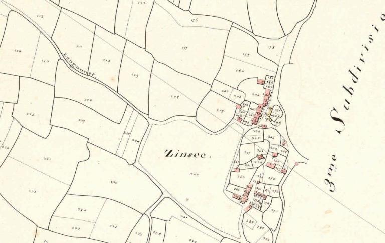Camp dit Castel César, Zinzec (Berné)