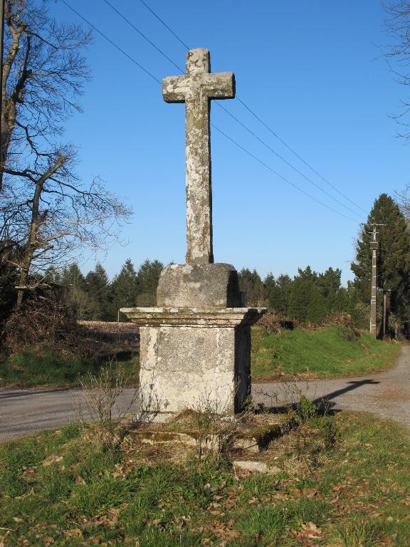Croix de chemin de Kerherio (Berné)