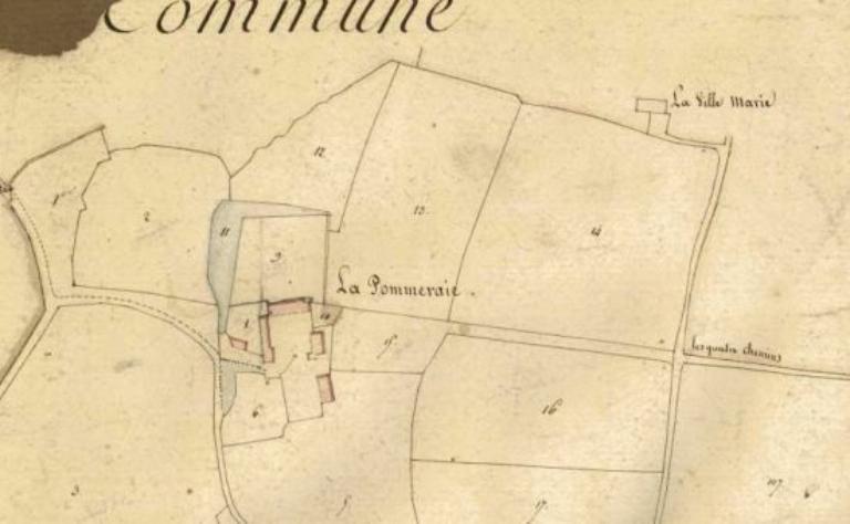 Manoir, la Pommerais (La Chapelle-Chaussée)