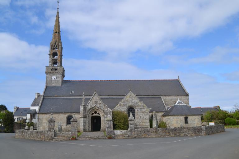 Eglise paroissiale Saint-Goulven (Goulien)