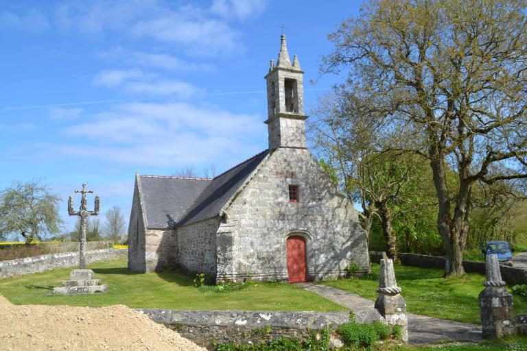 Chapelle de Langroas, de Sainte-Croix, Notre-Dame-de-Pitié, Notre-Dame-des-Sept-Douleurs, Langroas (Cléden-Cap-Sizun)
