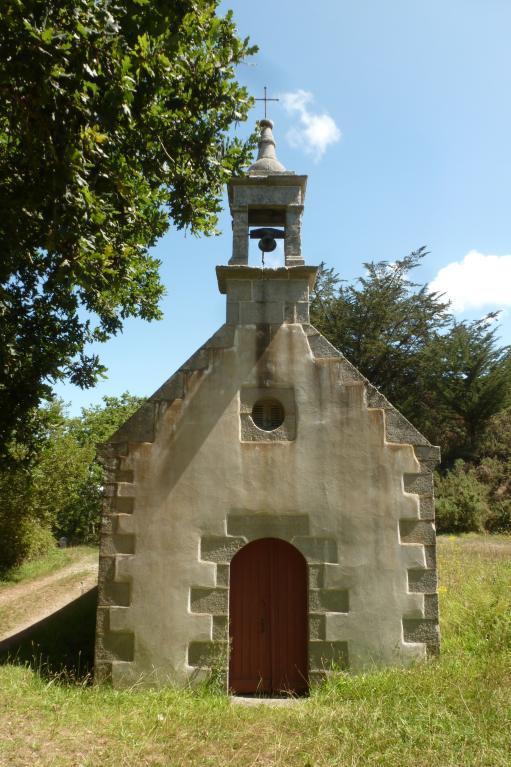 Chapelle Saint-Chrysanthe, près de Kerscoulet (Primelin)