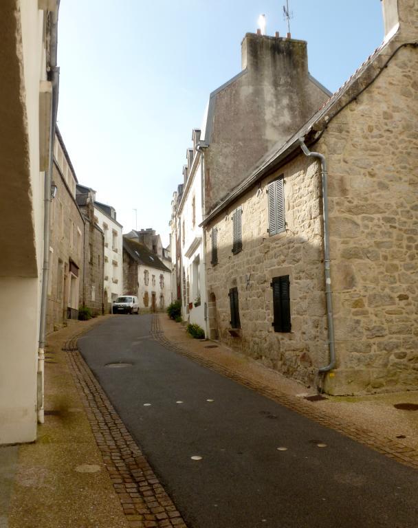 Rue Danton, anciennement rue Double (Audierne)