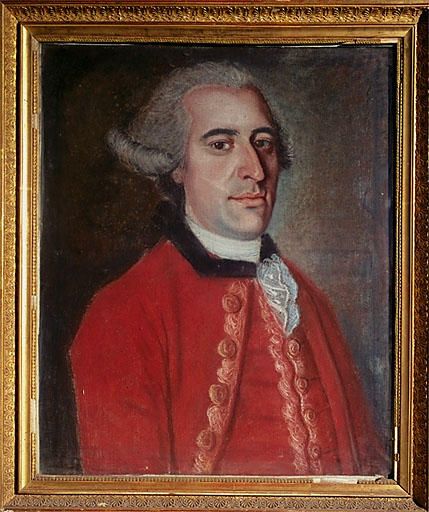 Tableau : portrait présumé de M. Brizard du Martrais