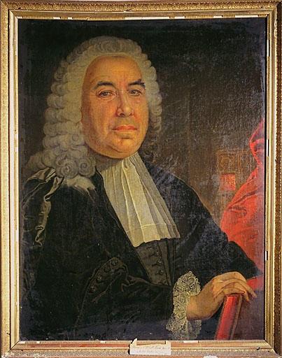 Tableau : portrait de monseigneur d'Aulan