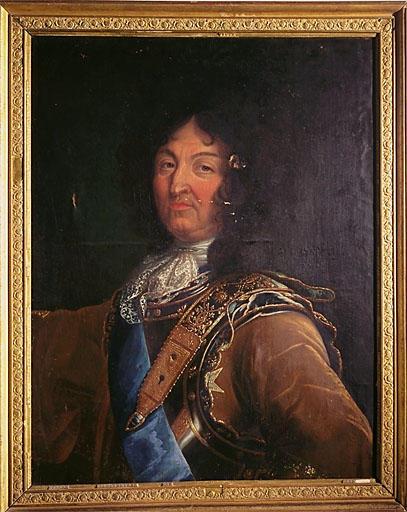 Tableau : portrait de Louis XIV