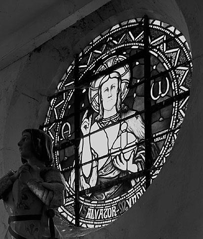 verrière : Salvator Mundi