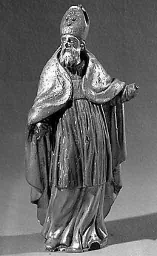 Statuette : saint évêque