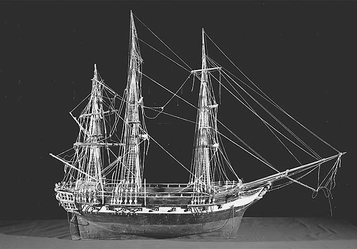 Ex-voto maquette du navire le saint Pierre