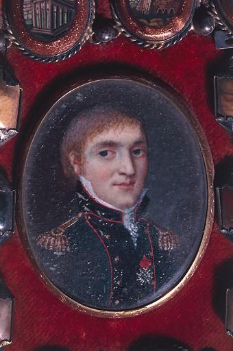 tableau : portrait du colonel Amyot