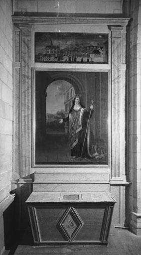 Autel, retable (autel secondaire, autel tombeau)