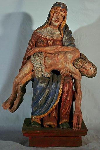 statuette : Pieta