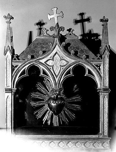 Reliquaire, style néo-gothique