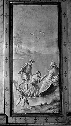 2 tableaux : Pêche miraculeuse, tempête apaisée