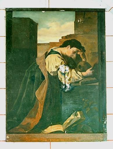 tableau : sainte Madeleine en prière