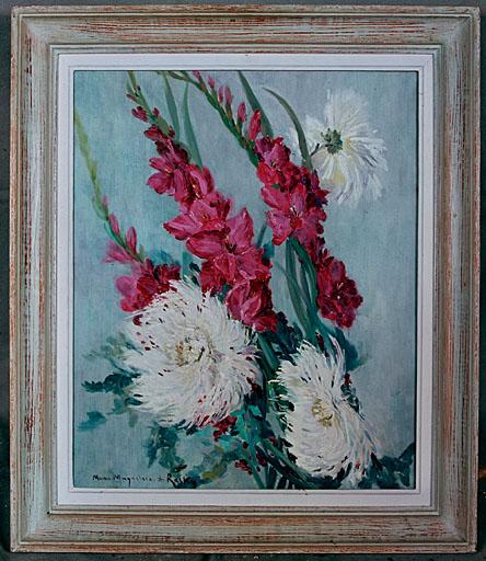 Tableau : branches de fleurs