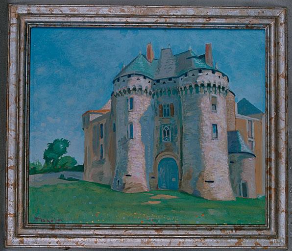 Tableau : château de Barbezieux