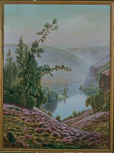 3 tableaux : paysages